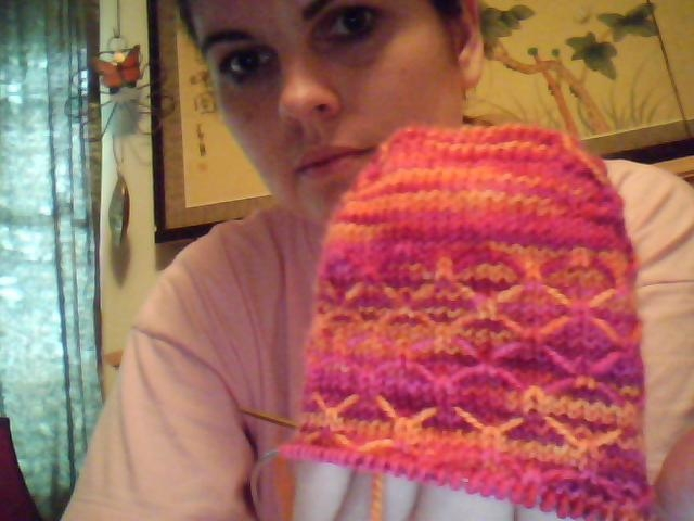 (part of) my first sock!