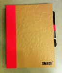 I got this smash journal in January 2011 and now it is full.  I just bought a new one to fill up!
