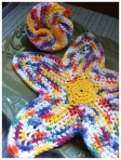 Colorful fishcloths I crocheted