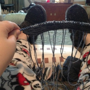 Learning Intarsia knitting