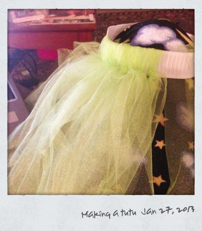 Making a tutu