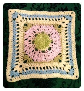 Hairy Lavender Flower Square